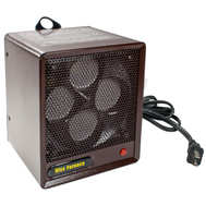 World Marketing B-6A1 Brown Box Electric Ceramic Heater 1500 Watt