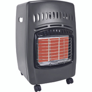 World Marketing GCH480 Heater Propane 18k Lp Gray