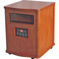 World Marketing DH2000C/QEH1410 Heater Electric Infrared Oak