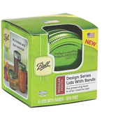 Jarden 1440030010 Ball Ball Green Lids With Bands