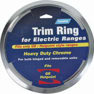 Camco 00313 Ge Hotpoint 8 Inch Electric Range Trim Ring Chrome