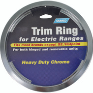 Camco 00353 8 Inch Electric Range Trim Ring Chrome
