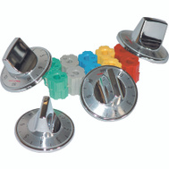 Camco 00903 Chrome Electric Range Burner Knobs Pack Of 4