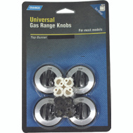 Camco 00943 Black Gas Range Burner Knobs Pack Of 4