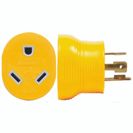 Camco 55338 Adapter 30M/30F 4-Prong 125V