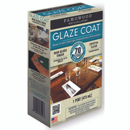 Eclectic 5050060 Famowood Coat Epoxy Glaze Hi Gloss Clear Pint