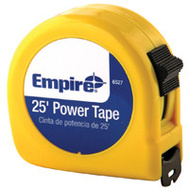 Empire Level 626 25 Foot By 1 Inch Fractional Power Tape