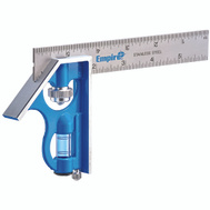 Empire Level E255 Combination Square 6 Inch Stainless Steel Blade