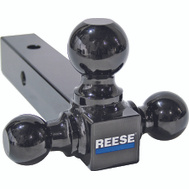 Reese Towpower 21512 Black Tri Ball Hitch Mount