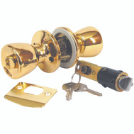 US Hardware D-099B Entrance Lock Brass