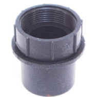 US Hardware P-081C Black Tub Strainer Adapter