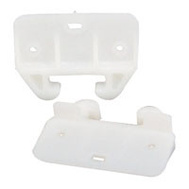 US Hardware WP-8813C Rear Drawer Guides Plastic