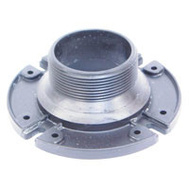 US Hardware P-110C BLK Male Closet Flange