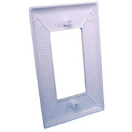 US Hardware E-122C Gang Plate White