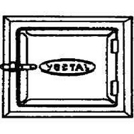 Vestal ST-88 8 By 8 Inch Galvanized Steel Cleanout Door