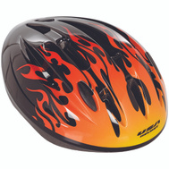 Kent International 64151 Helmet Child Boy Hotrod Flames
