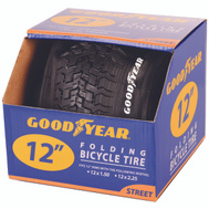 Kent International 91050 Goodyear Tire Bike 12.5 X 2.25 Black