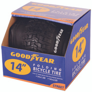 Kent International 91051 Goodyear Tire Bike 14.5 X 2.25 Black