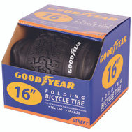 Kent International 91052 Goodyear Tire Bike 16 X 2.0 Black