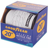 Kent International 91056 Goodyear Tire Bmx 20 X 2.125 White