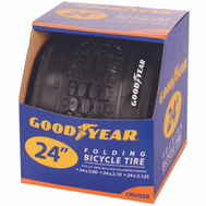 Kent International 91058 Goodyear Tire Cruiser 24 X 2.0 Black