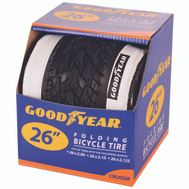 Kent International 91061 Goodyear Tire Cruiser 26 X 2.125 White