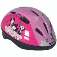 Kent International 64101 Helmet Toddler W/Pink Kittens