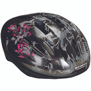 Kent International 97537 Helmet Adult Blk W/Lotusflower