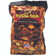 Royal Oak 197-300-163 Chunks Hickry Royl Oak Nat 6 Pound