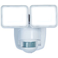 HeathCo HZ-5846-WH Motion Lght 2Led 180Dg 1250Wht