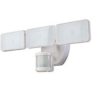 HeathCo HZ-5872-WH Motion Lght 3Led 240Dg 2500Wht