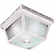 HeathCo HZ-4305-WH Light Ceil Motn 360D Frstd Wht