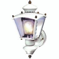 HeathCo HZ-4150-WH Heath Zenith Light Motion Clr Gls 150d Wht