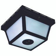 HeathCo HZ-4305-BK Heath Zenith Hz-4305-Bk Motion Activated Decorative Ceiling Light