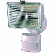 HeathCo HZ-5525-WH Heath Zenith Light Hal Motn 250W 180Deg Wht