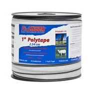 Fi Shock PT656W1-FS Polytape White 1In 656Ft