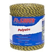 Fi Shock PW1320Y6-FS 1320 Foot 6 Ply Wire Yellow