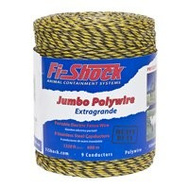 Fi Shock PW1320Y9-FS Polywire 9 Yel 1320Ft