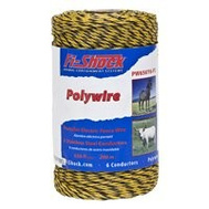 Fi Shock PW656Y6-FS 656 Foot 6 Ply Wire Yellow