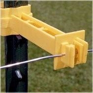 Fi Shock IT5XY-FS Insulators T Post 5 Inch Extender Yellow