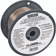 Fi Shock FW-00001T 17 Gauge Aluminum Fence Wire 1320 Foot