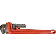 Superior Tool 02818 18 Inch Pipe Wrench Cast Iron Handle