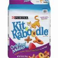 Purina 1780013043 Kit & Kaboodle Essentials Chicken Turkey Salmon And Cheese Cat Food 16 Pounds