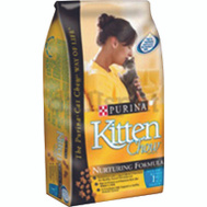 Purina 1780015021 Kitten Chow Kitten Chow Nurturing Formula Kitten Food 3.15 Pounds