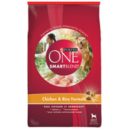 Purina 47568 Purina One 8 Pound Chick/Rice Dog Food
