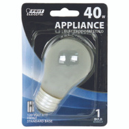 Feit Electric BP40A15 40 Watt Incandescent Appliance Light Bulb A15 Frosted