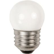 Feit Electric BP71/2S/CW 7-1/2 Watt Night Light/Indicator Bulb Mini Globe S11 White