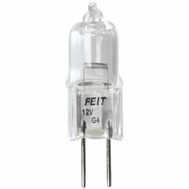 Feit Electric BPQ20T3 20 Watt Clear Halogen Jc Bulb 2 Pin T3 Clear G4 Base