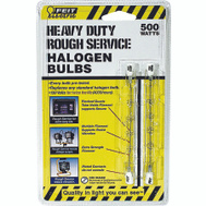 Feit Electric BPQ500T3/CL/RS/2 500 Watt Double Ended Rough Service Halogen Bulb Pack Of 2