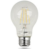 Feit Electric A1940/CL/LED/2 Led A19 3.6W/40W Med 2700K Clr 2 Pack